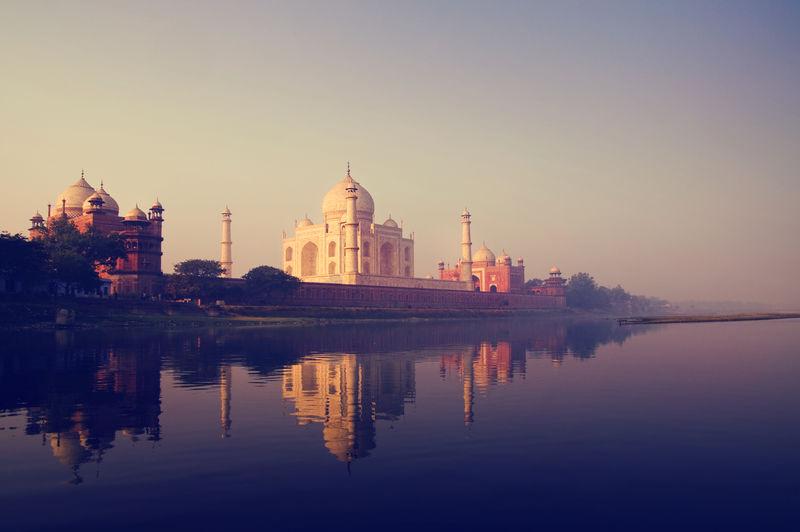 印度阿格拉的泰姬陵