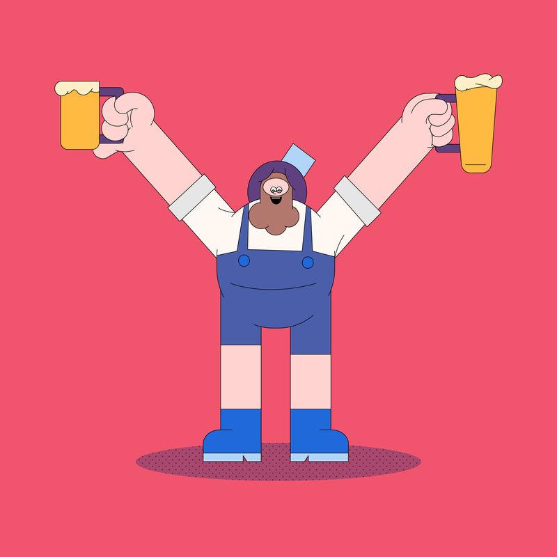 啤酒节庆典载体