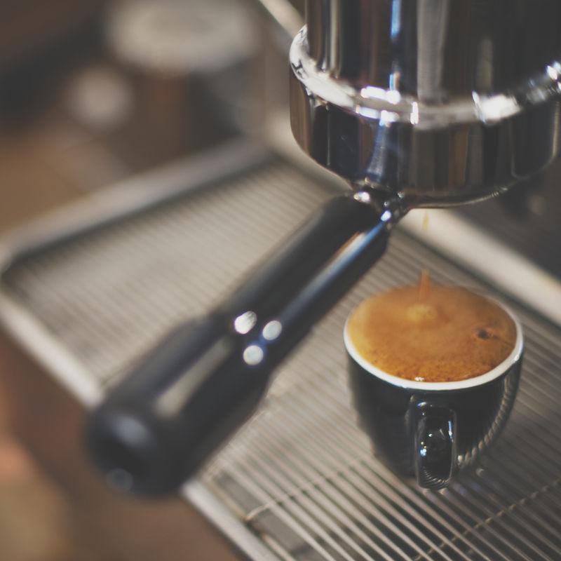 一杯浓缩咖啡