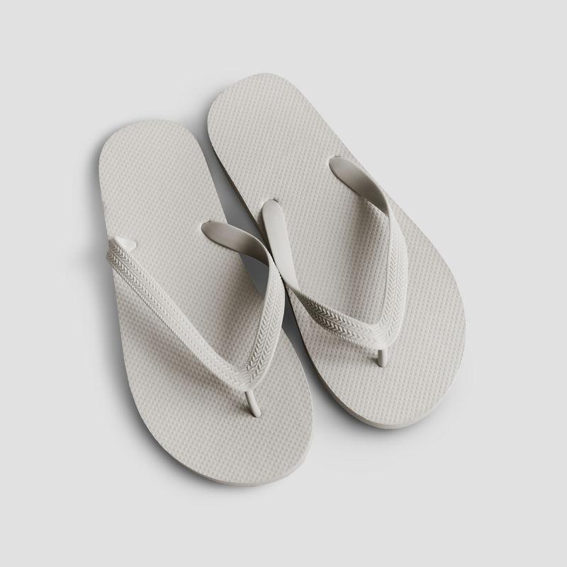 人字拖psd夏季沙滩拖鞋模型