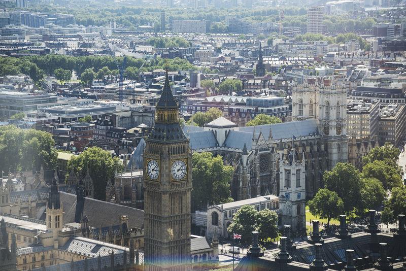 伦敦城市景观