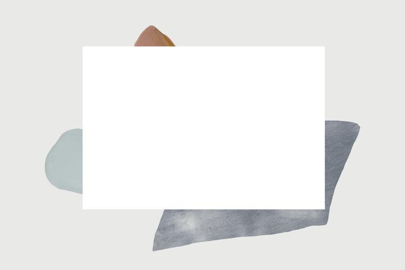 彩色抽象设计元素框架向量