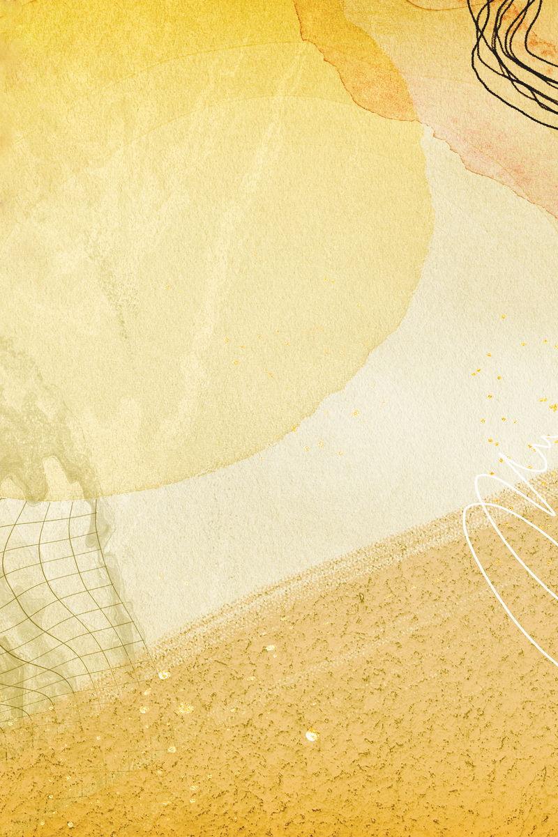 抽象金水彩背景设计