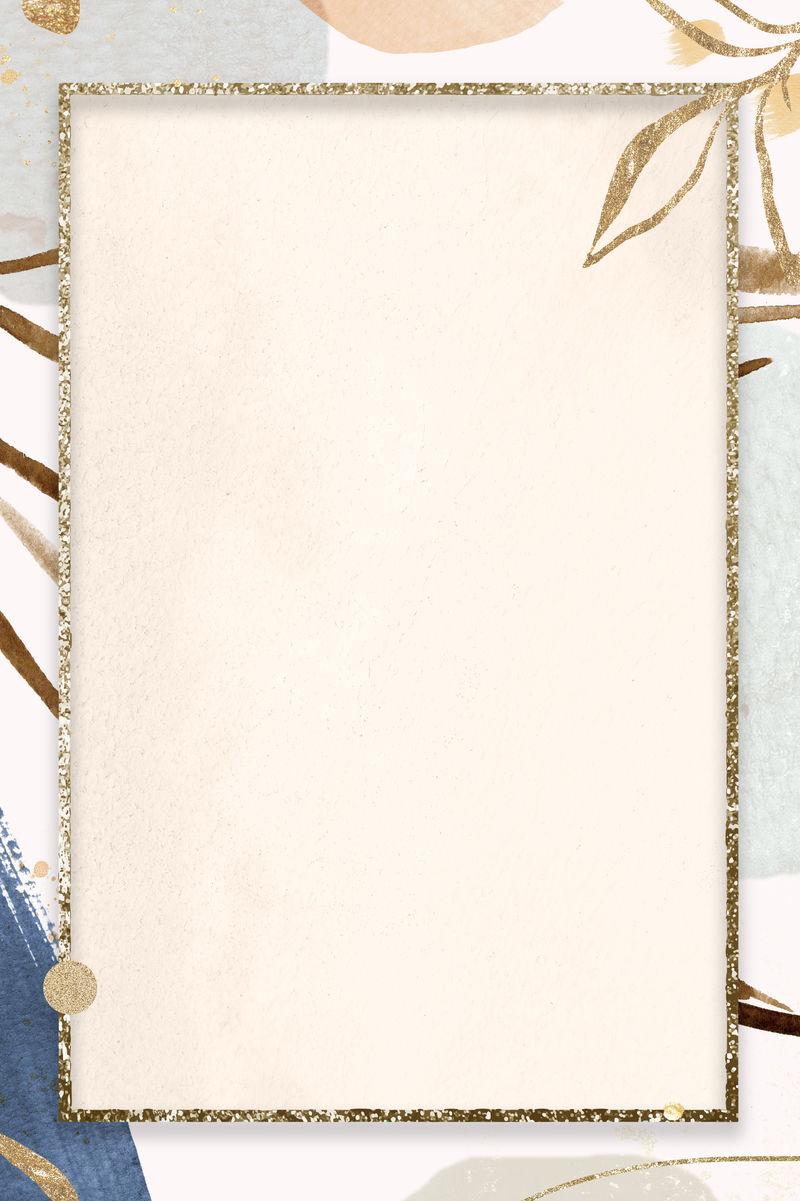 孟菲斯图案金框插图