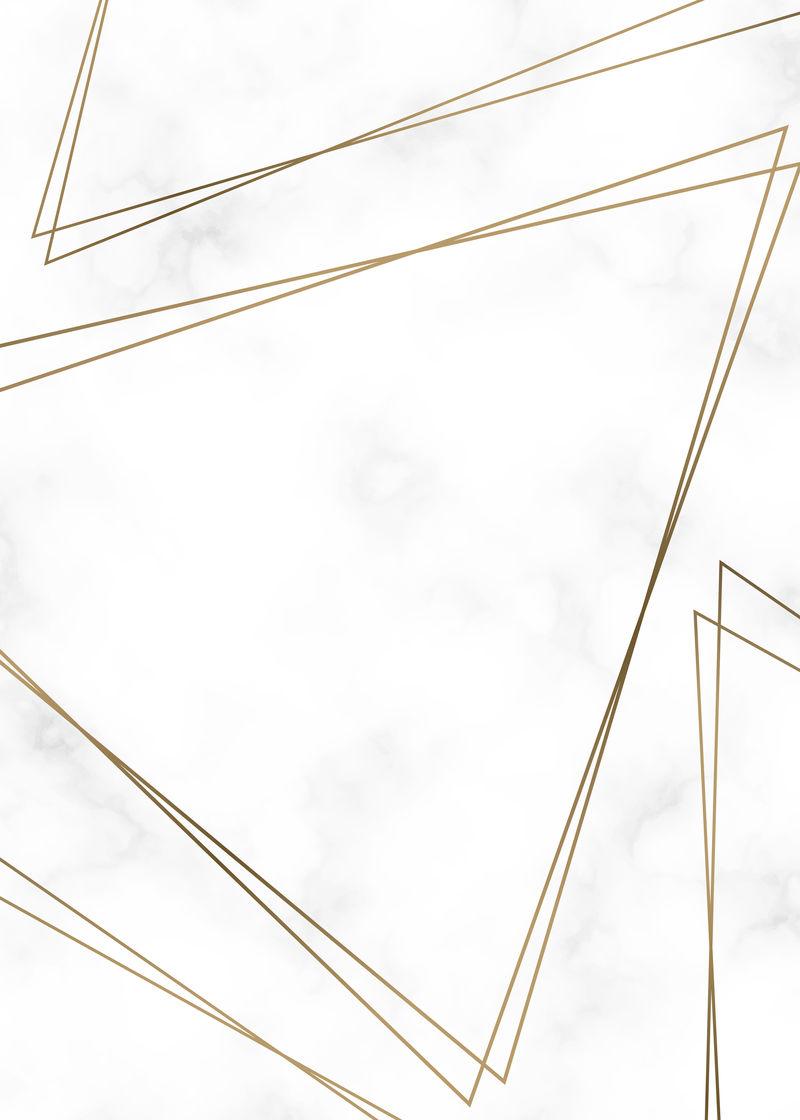 金三角框架模板向量