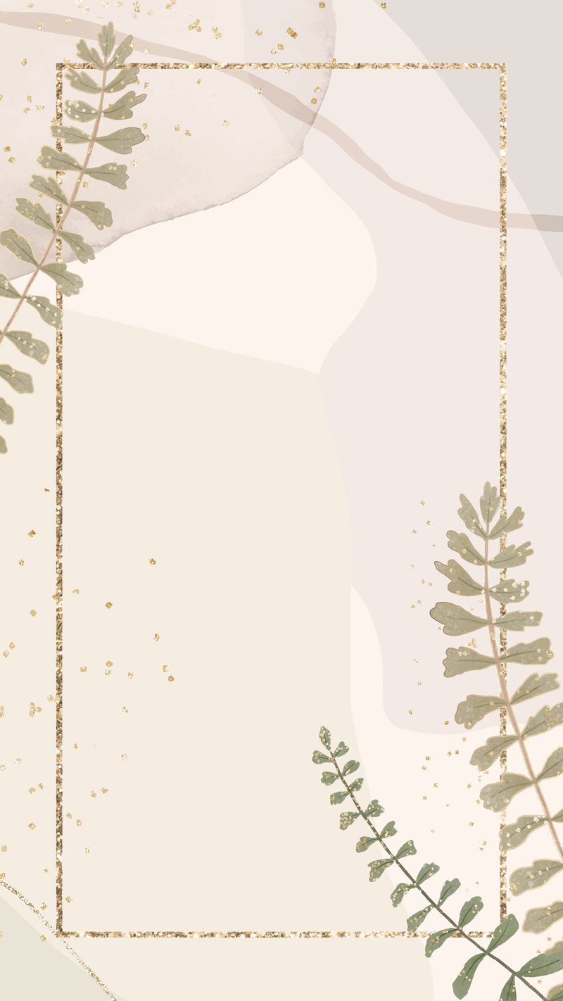 Psd裸粉色闪光花框现代抽象横幅