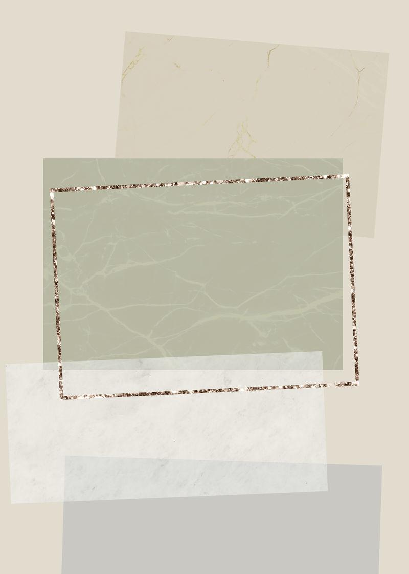 闪光矩形框架设计背景