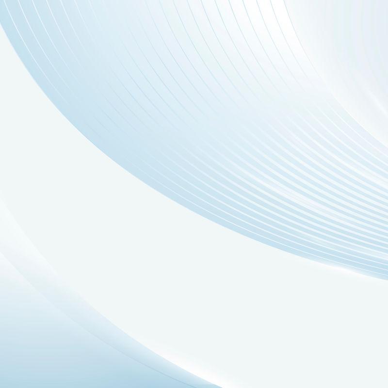 蓝色抽象分层条纹矢量背景