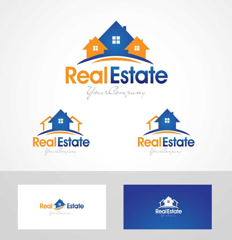 房地产矢量标志创意设计
