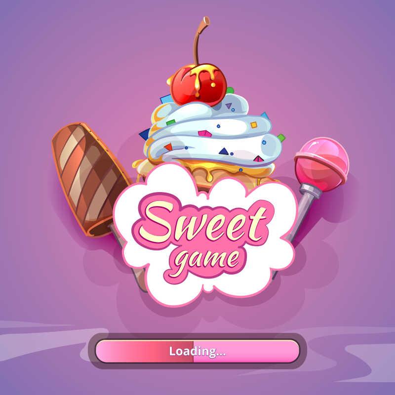 矢量糖果游戏图标
