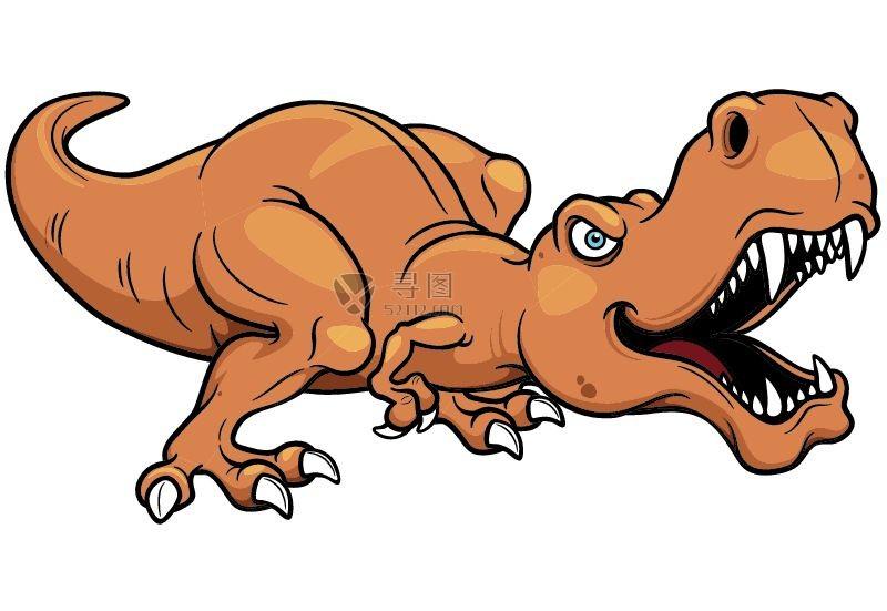 矢量卡通恐龙素材