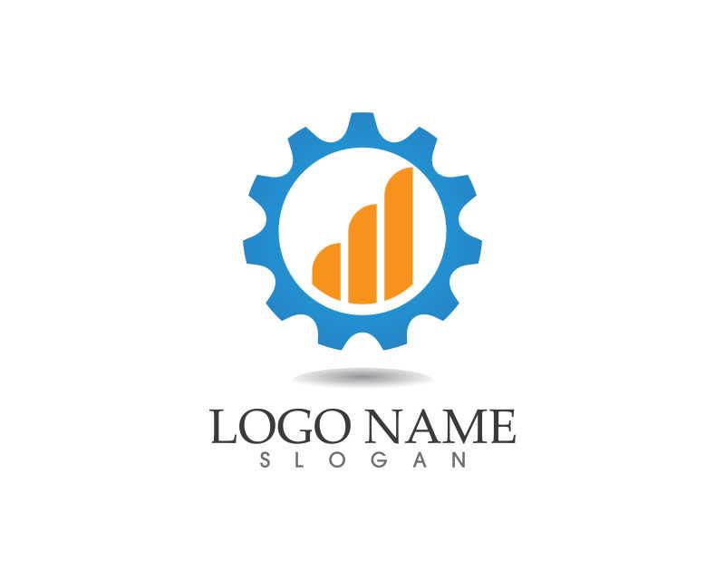 创意公司商标设计矢量模板