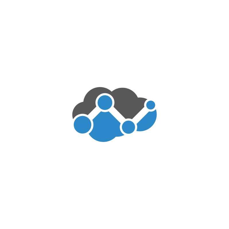 云形矢量商业商标
