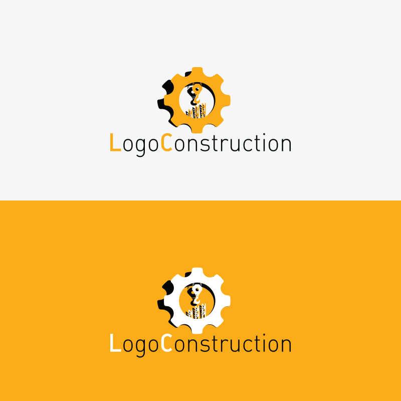 建筑公司矢量商标