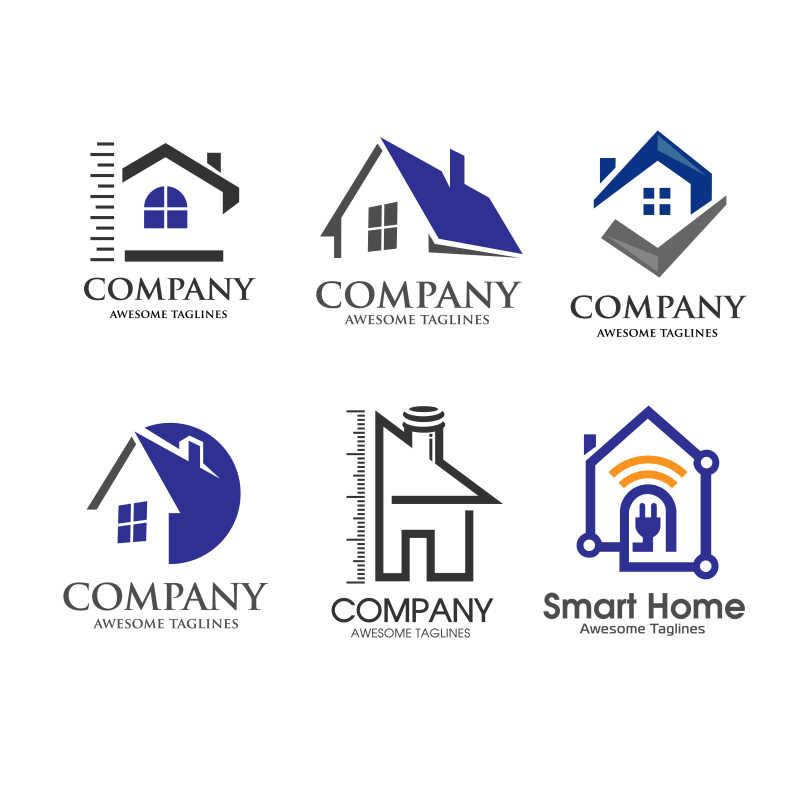 矢量家宅创意标志设计合集
