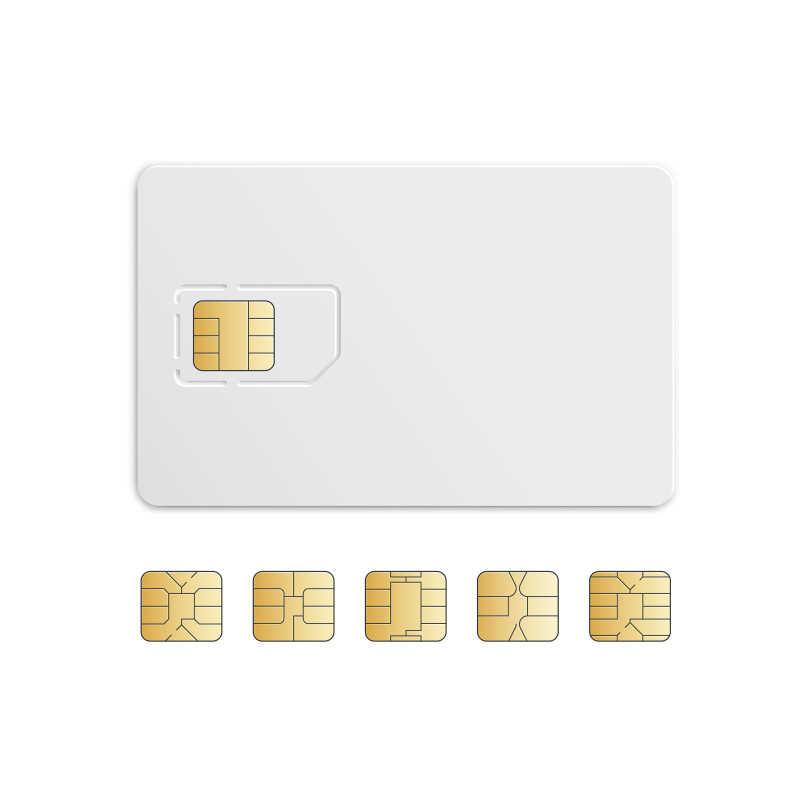 矢量移动手机电话卡芯片组