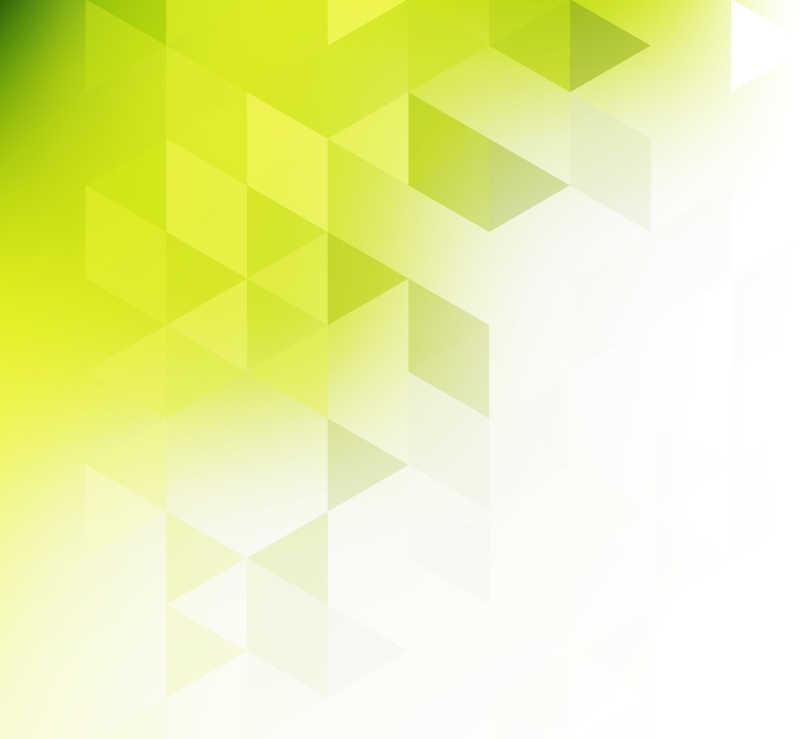彩色三角形抽象矢量背景