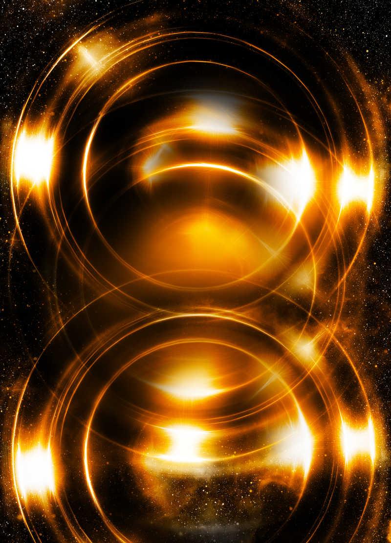抽象的宇宙空间
