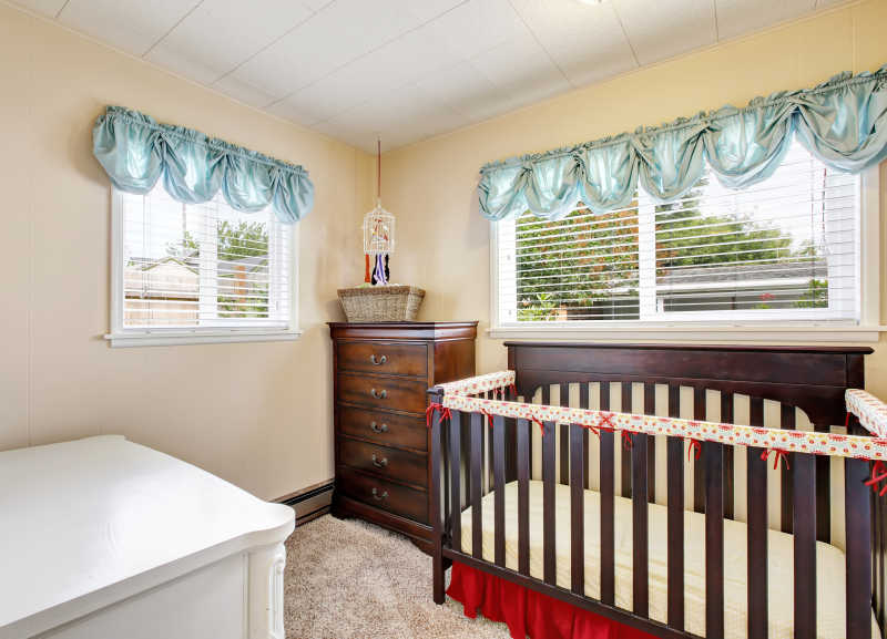 装修干净整洁的儿童卧室