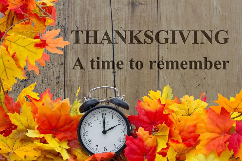 感恩节值得回忆的时刻