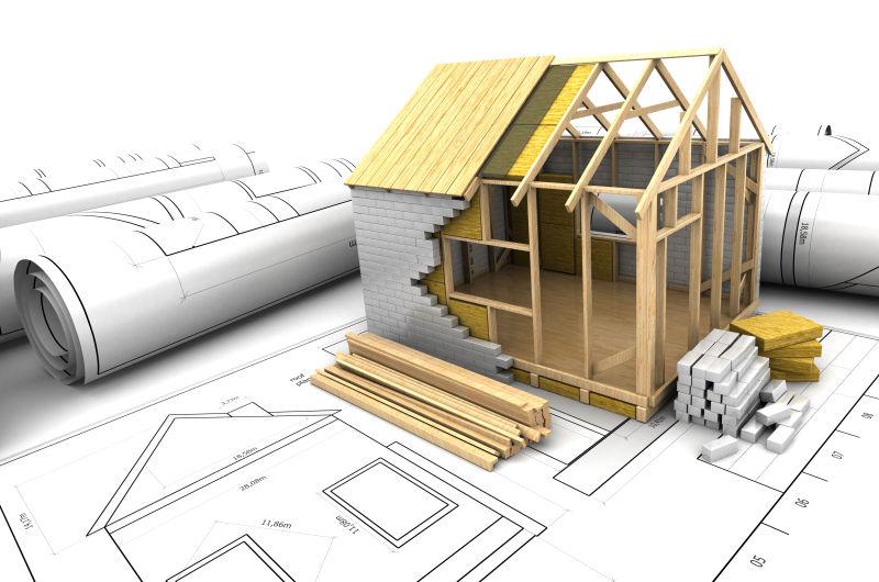 3d房屋建筑设计模型和设计图纸
