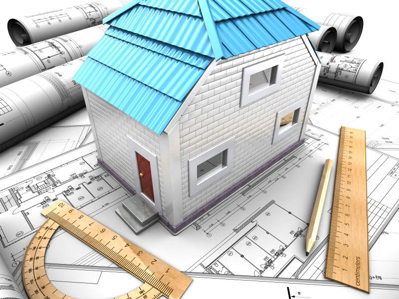 简单美丽的3d房屋模型