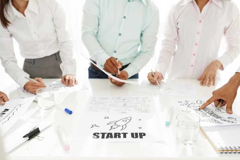 团队商业启动startup