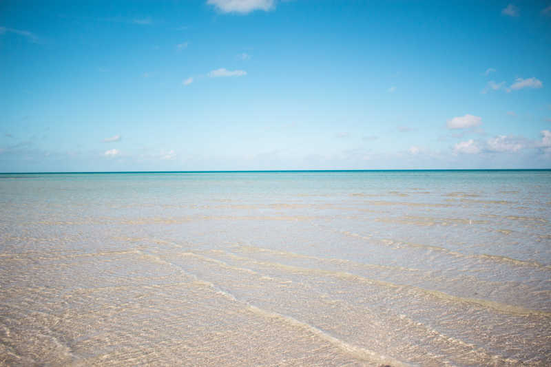 科岛原始海滩