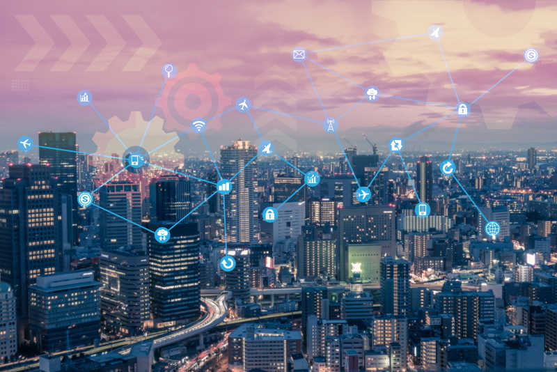 城市智互物联网与信息通信技术