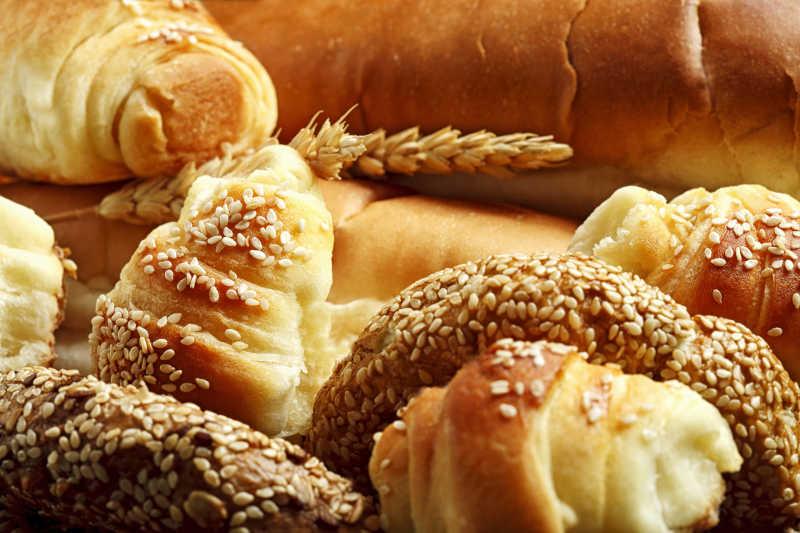 好吃的美味面包