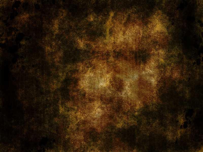 黑色背景下的浅黄色的粗糙纹理背景