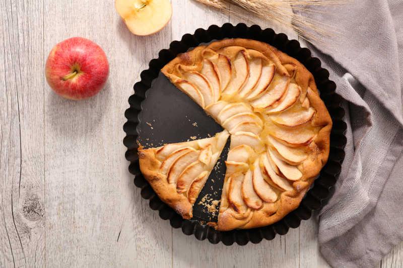 美味的美式苹果派