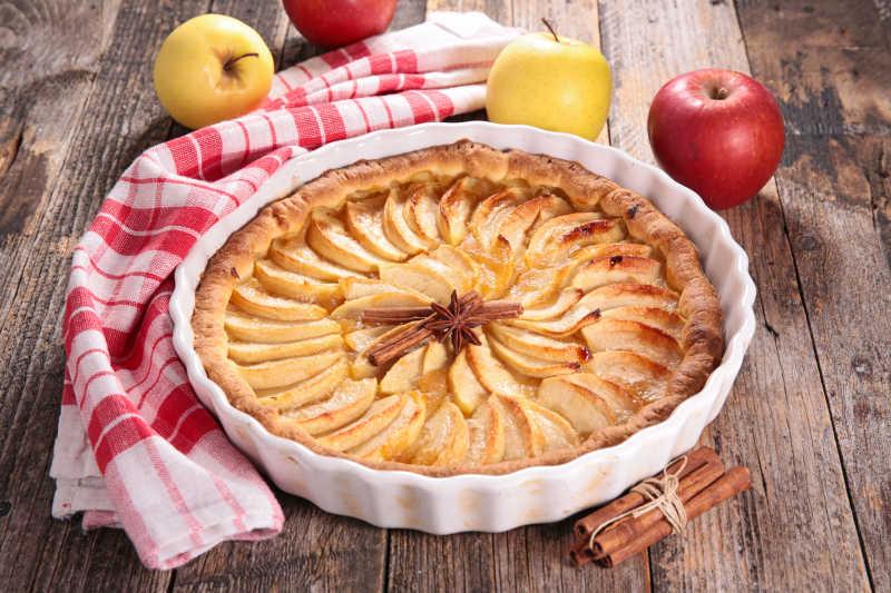 苹果馅饼和苹果