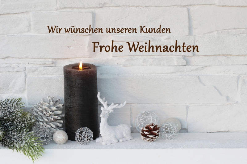 希望我们的客户圣诞节快乐