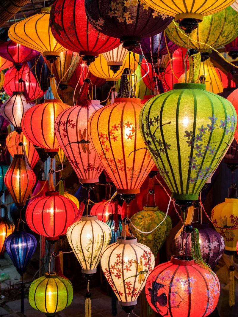 美丽的越南会安灯笼