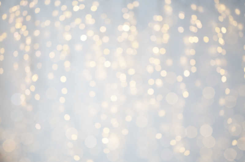 圣诞节美丽的灯光