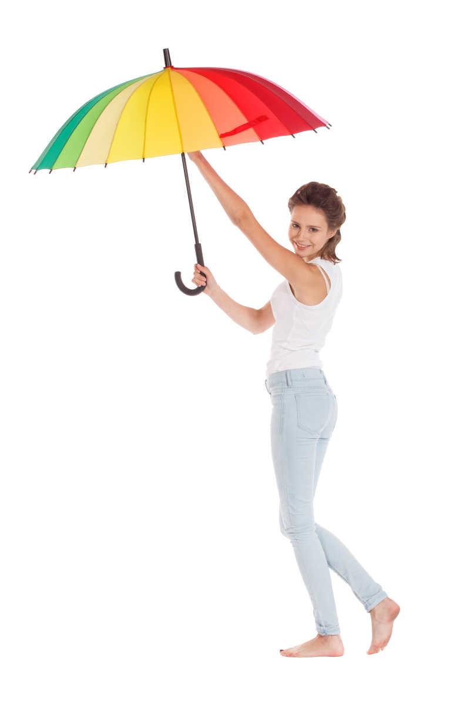 一个女人拿一把伞_美女手拿雨伞图片-美女玩多色彩伞素材-高清图片-摄影照片-寻图 ...