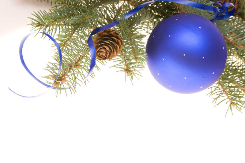 美丽的圣诞边框装饰素材