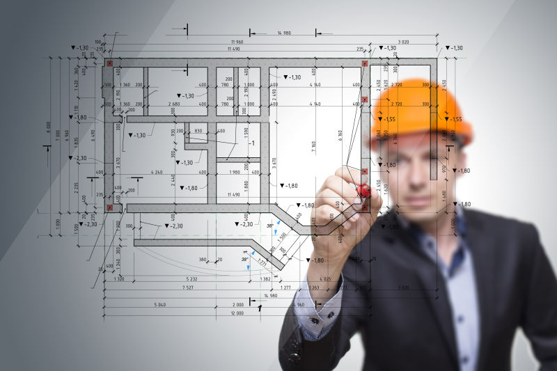 cad建筑平面图
