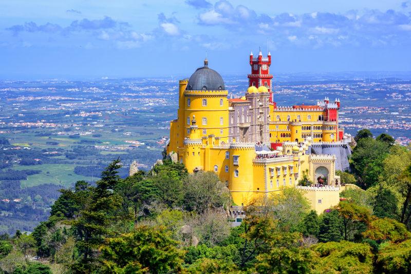 辛特拉佩纳宫风景