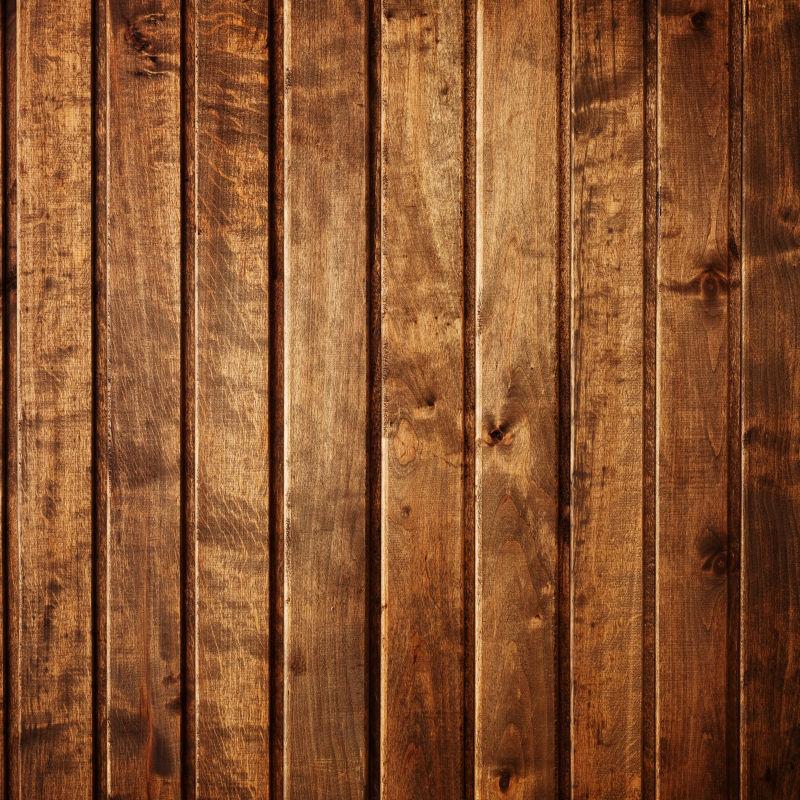 干净的木材