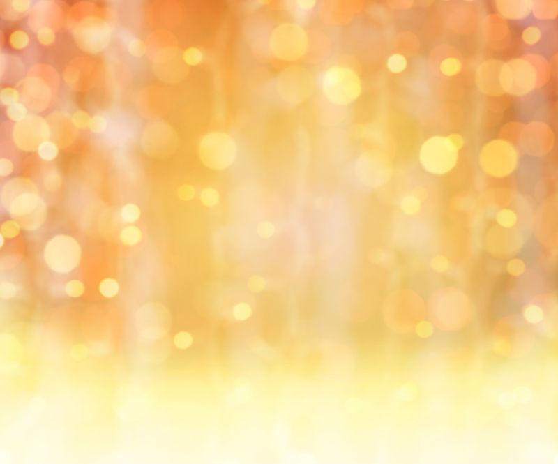 金色的灯光背景