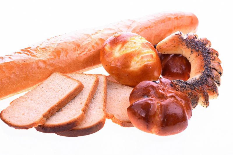 美味的自制面包