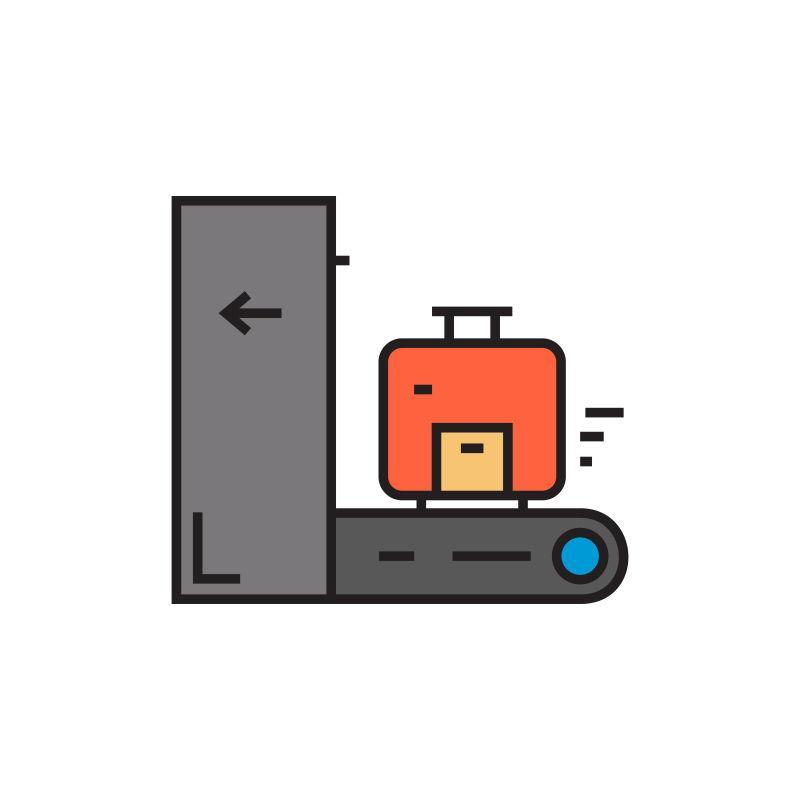 行李检查图标