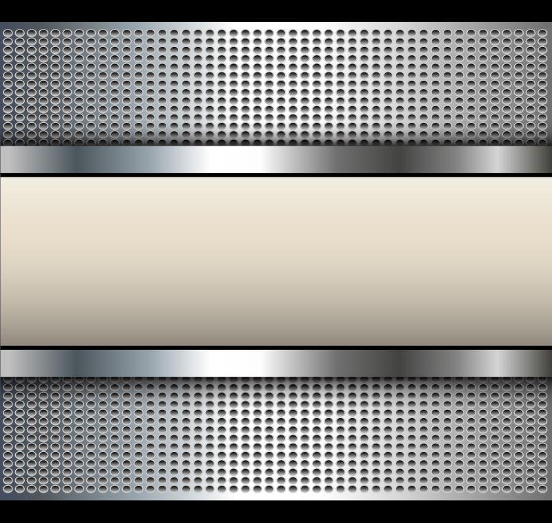 矢量的铝合金质感背景