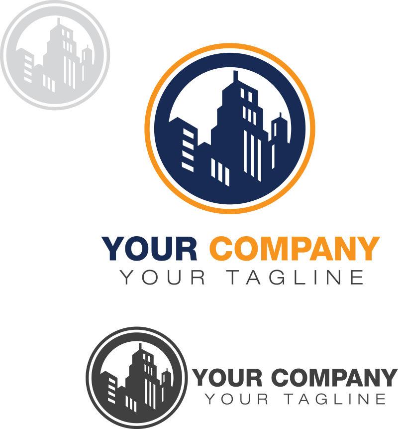 房地厂logo矢量设计