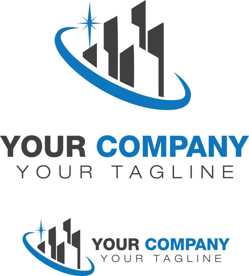 矢量房地产logo设计