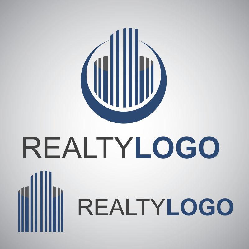 创意的房地产矢量logo模板