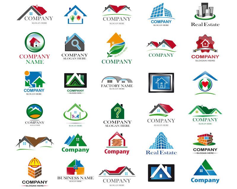 房地产logo矢量设计合集