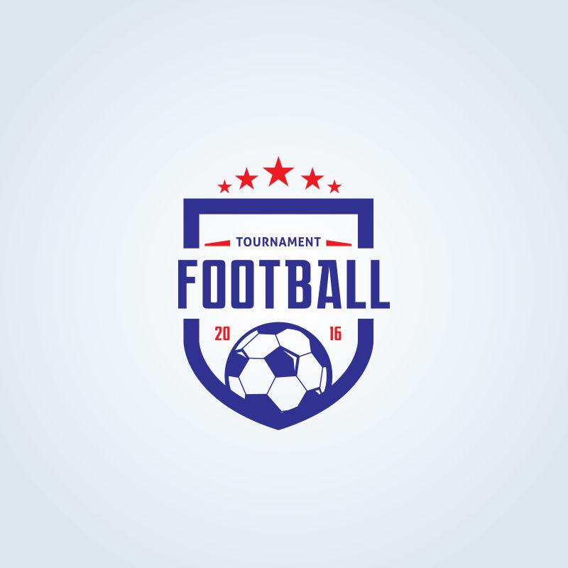 矢量足球俱乐部标志设计